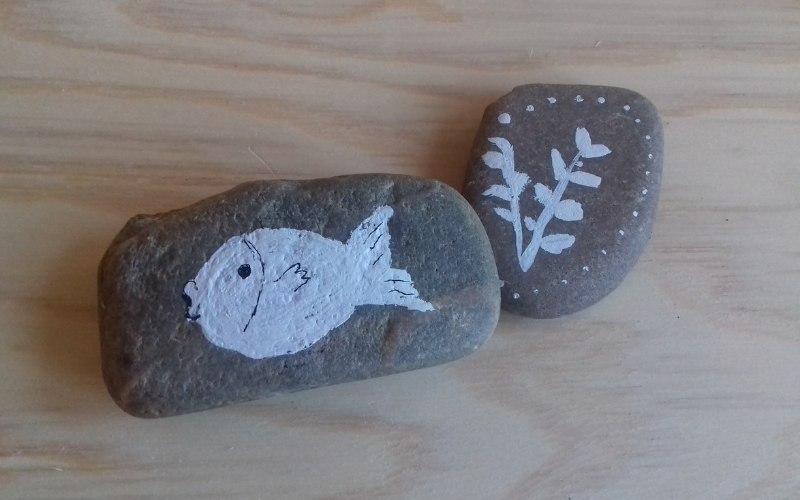 manualidades sin dinero gratis con piedras