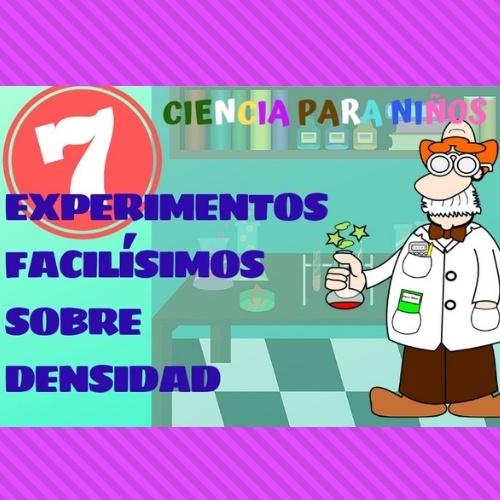 experimentos sencillos experimentos caseros para niños