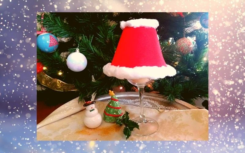 lámpara Cómo original vela hacer una con de navidad copa y E9WH2IDY