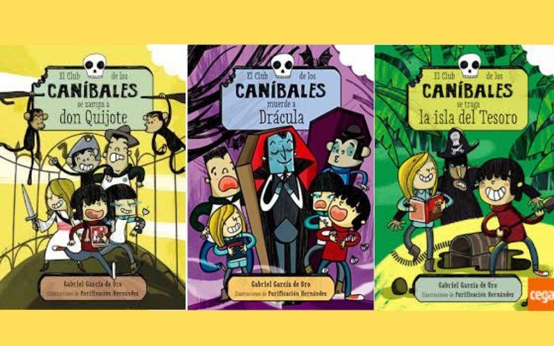libros coleccion los canibales