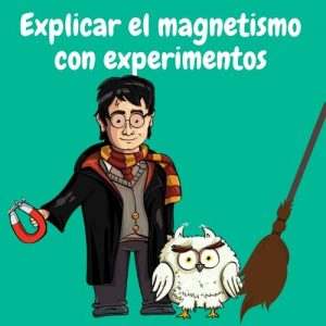 harry potter con un imán