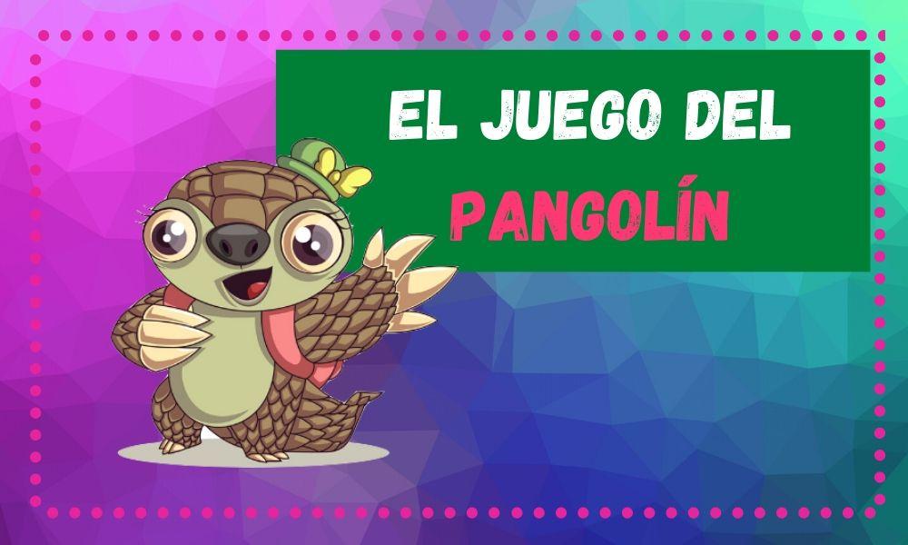 dibujo animado de pangolin portada juego del pangolin