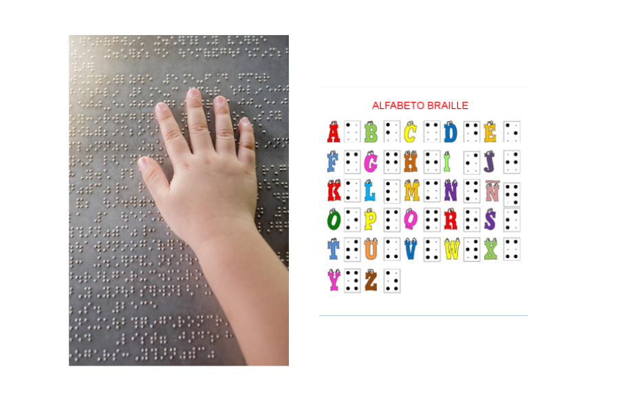 alfabeto braille para niños
