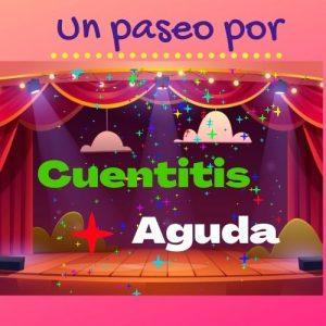 """Escenario con título """"Cuentitis Aguda"""""""