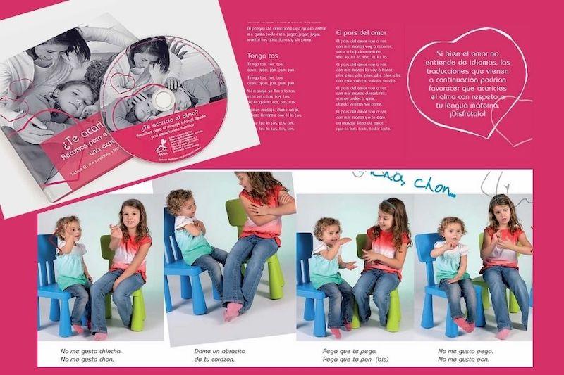 imágenes libro con niñas jugando