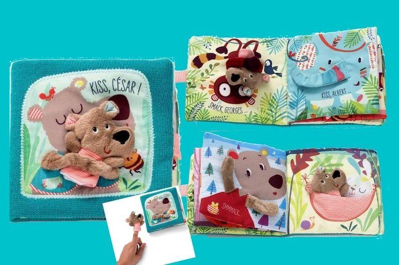 libro de tela para bebés