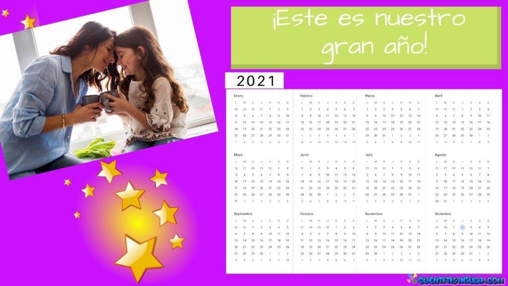 calendario personalizable