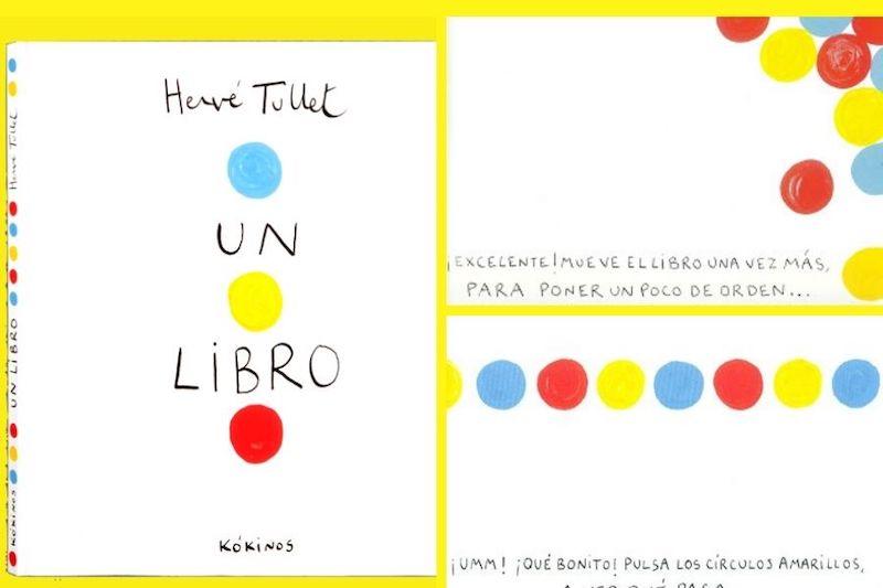 portada libro infantil con peces de colores